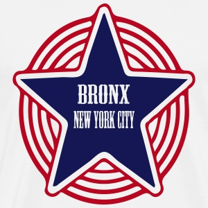 bronx new york city T-shirts - Herre premium T-shirt