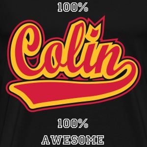 Colin - Personalised  t-shirt with your name. T-Shirts - Men's Premium T-Shirt