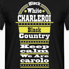 charleroi black country Tee shirts