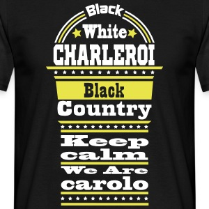 charleroi black country Tee shirts - T-shirt Homme