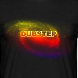 dubstep space T-skjorter - T-skjorte for menn