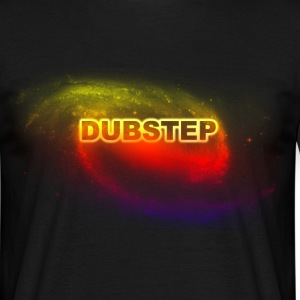 dubstep space T-shirts - Mannen T-shirt