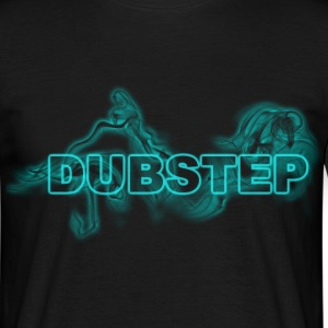 dubstep smoke blue T-Shirts - Männer T-Shirt