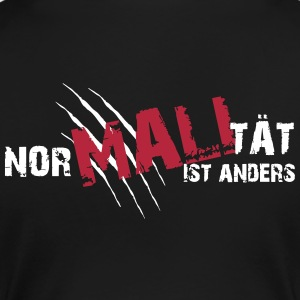 Nor-MALI-tät is anders - Frauen Premium T-Shirt