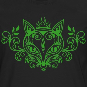 Fuchs Wald Frühling Sommer What does the fox say? - Männer Premium Langarmshirt