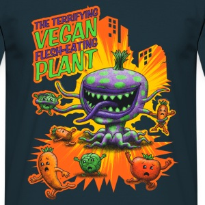 The Terrifying Vegan Flesh Eating Plant T-Shirts - Männer T-Shirt