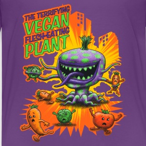 The Terrifying Vegan Flesh Eating Plant Shirts - Kids' Premium T-Shirt