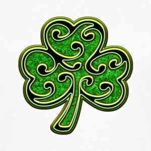 Éire Ireland Shamrock St Patricks Day Irish Clover Long sleeve shirts - Men's Premium Longsleeve Shirt