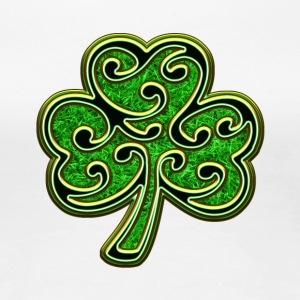 Éire Ireland Shamrock St Patricks Day Irish Clover T-Shirts - Women's Premium T-Shirt