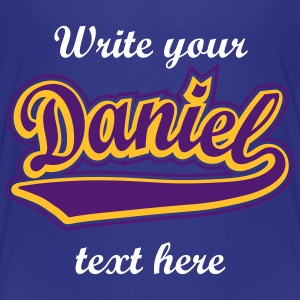 Daniel - T-shirt Personalised with your name. Shirts - Kids' Premium T-Shirt