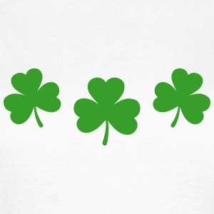 St. Patricks Day Shamrock Clover Lucky Charm Paddy - Frauen T-Shirt