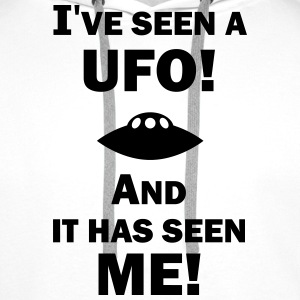 I've Seen a UFO! Men's Hoodie - Premium hettegenser for menn