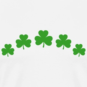 St. Patricks Day Shamrock Clover Paddy Lucky Charm T-Shirts - Men's Premium T-Shirt