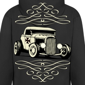 US Old Car Hoodies & Sweatshirts - Men's Premium Hooded Jacket