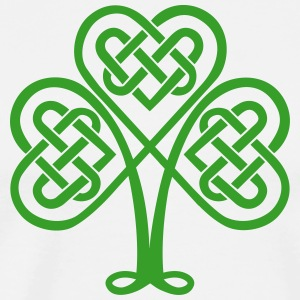 St. Patricks Day Shamrock Trinity & Eternal Love T-skjorter - Premium T-skjorte for menn