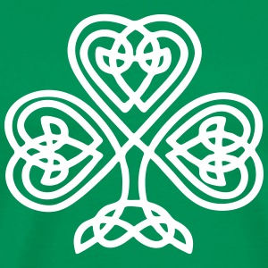 S. Patricks Day Shamrock Trinity & Eternal Love T- - Men's Premium T-Shirt