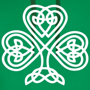 S. Patricks Day Shamrock Trinity & Eternal Love Hoodies & Sweatshirts - Men's Premium Hoodie