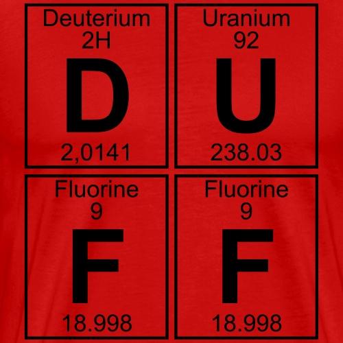 D-U-F-F (duff)