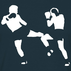 kikboxing T-shirts - Mannen T-shirt