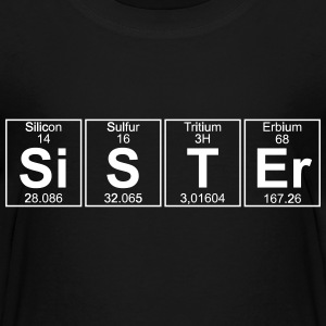 Si-S-T-Er (sister) Shirts - Teenage Premium T-Shirt