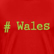 Design ~ 'Hash tag' Wales
