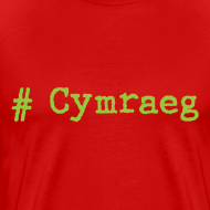 Design ~ 'Hash tag' Cymraeg