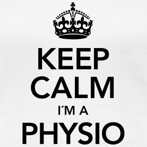 Keep Calm I´m A Physio T-Shirts - Frauen Premium T-Shirt