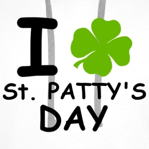 I st patty's day Hoodies & Sweatshirts - Men's Premium Hoodie