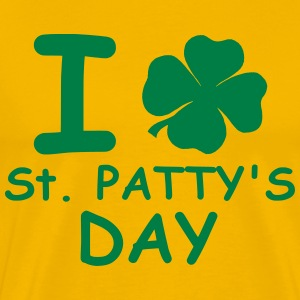 I st patty's day Tee shirts - T-shirt Premium Homme