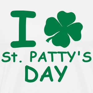 I st patty's day T-shirts - Herre premium T-shirt