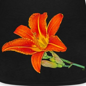 Orange lily T-Shirts - Women's V-Neck T-Shirt