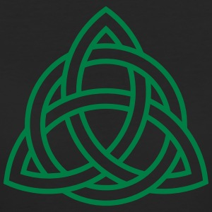 Celtic Knot Triqueta Triquetra Triforce Triangle   T-shirts - Ekologisk T-shirt dam