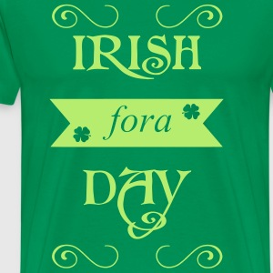 irish fora day T-skjorter - Premium T-skjorte for menn