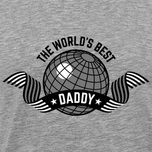 The World's Best Daddy (3C) T-Shirts - Men's Premium T-Shirt