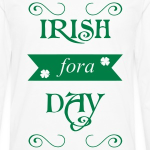 irish fora day Long sleeve shirts - Men's Premium Longsleeve Shirt