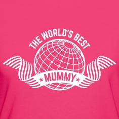 The World's Best Mummy (1C) T-Shirts