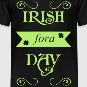 irish fora day Skjorter - Premium T-skjorte for tenåringer