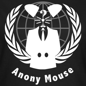 anony mouse v2 T-shirts - Vrouwen T-shirt