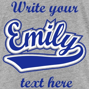 Emily - T-shirt Personalised with your name Shirts - Kids' Premium T-Shirt