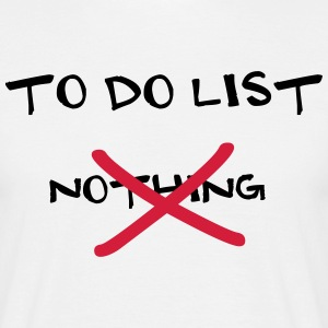 To Do List T-Shirts - Männer T-Shirt