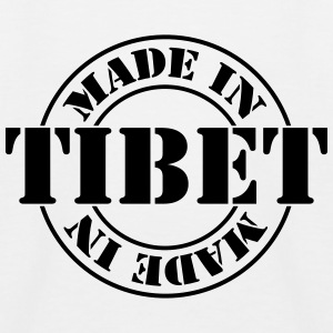 made_in_tibet_m1 Shirts - Kinderen baseball T-shirt