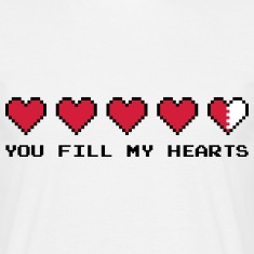 You Fill My Hearts  Tee shirts