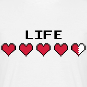 Life Hearts T-Shirts - Men's T-Shirt