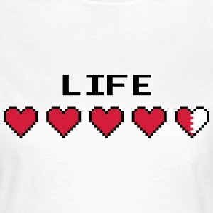 Life Hearts T-Shirts - Frauen T-Shirt