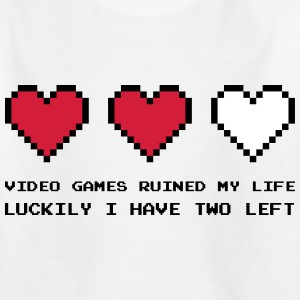 Video Games Ruined My Life T-Shirts - Kinder T-Shirt