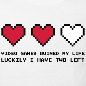 Video Games Ruined My Life T-shirts - Ekologisk T-shirt barn