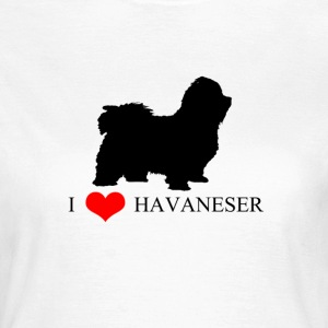 I LOVE HAVANESER T-Shirts - Frauen T-Shirt