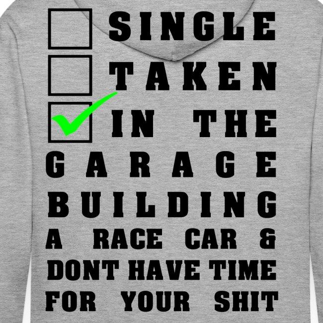 Building a Racecar Pullover grau