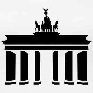 Brandenburger Tor T-Shirts - Frauen Premium T-Shirt