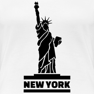 New York T-Shirts - Frauen Premium T-Shirt